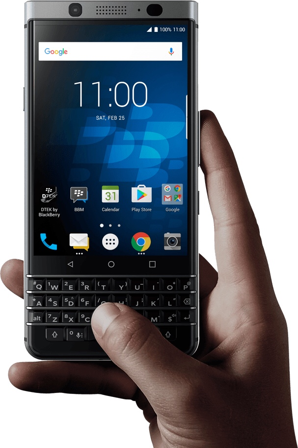 The Case for Physical Keyboards on Phones – Why I use a Blackberry in 2018?
